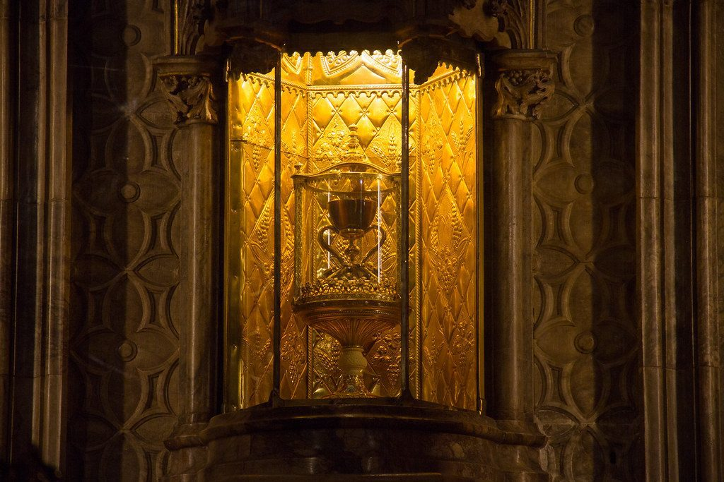 The Holy Grail Christian Relic Valencia Cathedral