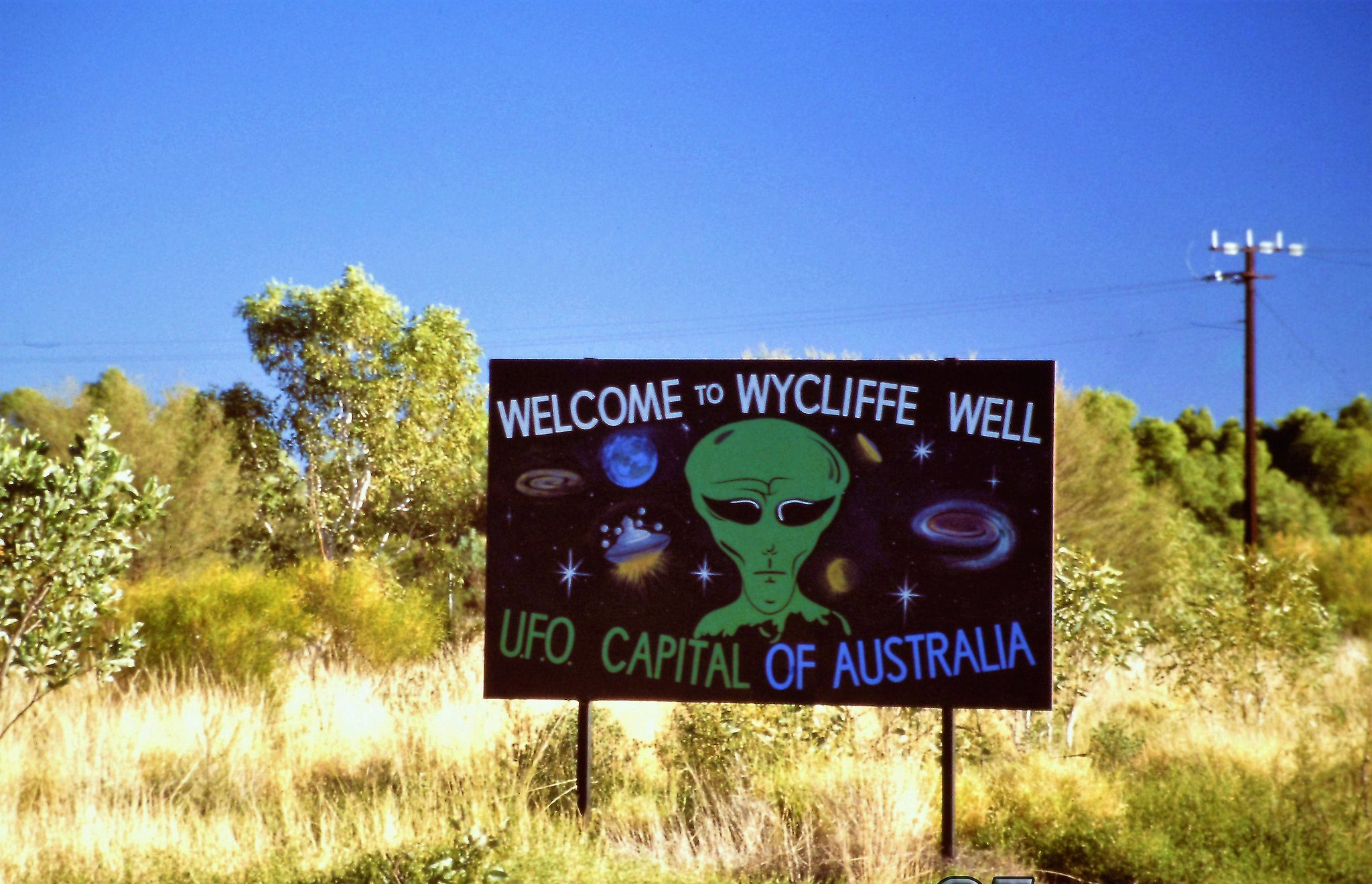 wycliffe well ufo capital