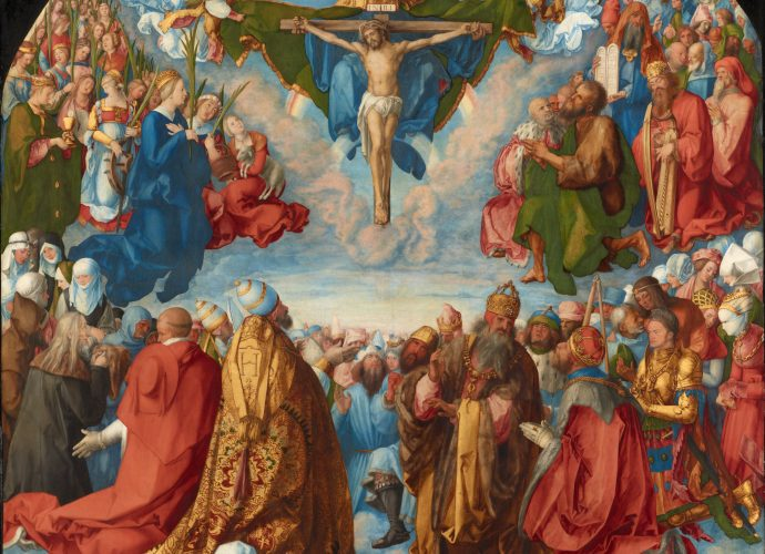 Who are the fourteen holy helpers