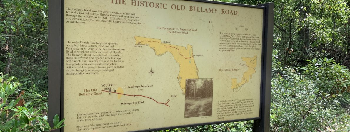 Bellamy Bridge is located near Marianna, Florida