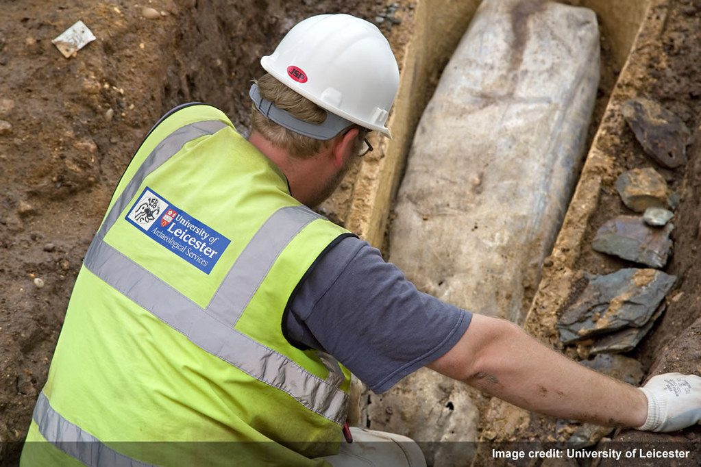 University of Leicester Lead Coffin Richard III Excavation