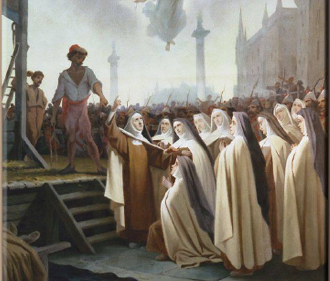 The Carmelite Martyrs of Compiègne