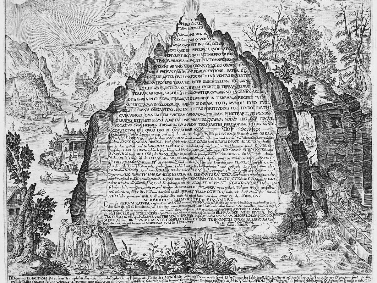What is the emerald tablet